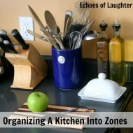 How To Organize A Kitchen Into Zones For Easier Cooking!