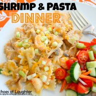 Easy Shrimp & Pasta Dinner…