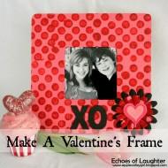 Make A Valentine's  Frame