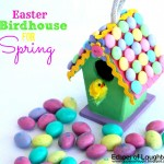 Easter Birdhouse for Spring