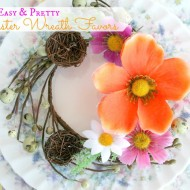 Easter Wreath Favors