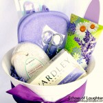 Bath Gift Basket +FREE Printable Tag
