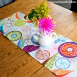 Make a Pretty Table Runner