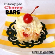 Pineapple Cherry Bars