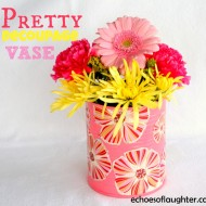 Make A Pretty Decoupage Vase