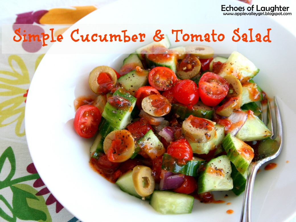 Simple Cucumber & Tomato Salad