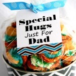 Cashew Pretzel Hugs For Dad