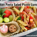 Italian Pasta Salad Picnic Lunch