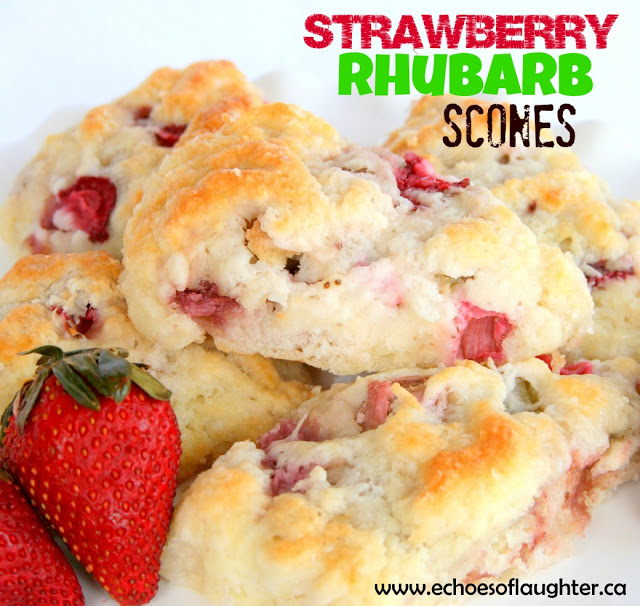 Strawberry Rhubarb Drop Scones A Recipe: 15 Treats For Coffee On The Porch