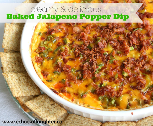 Baked Jalapeno Popper Dip - Echoes of Laughter