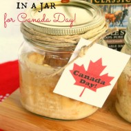 Maple Syrup Bread Pudding In A Jar For Canada Day
