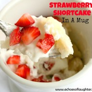 Strawberry Shortcake In A Mug