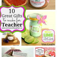 10 Great Gifts To Make For Teacher