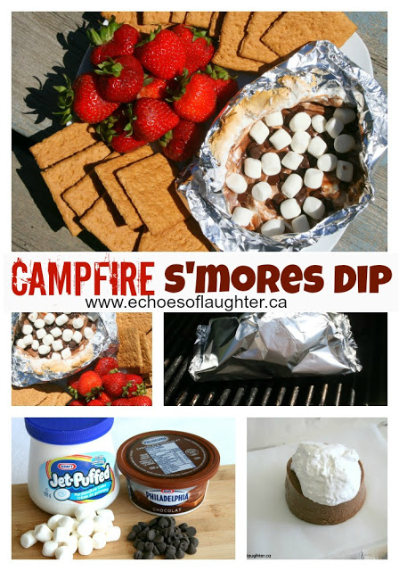 Campfire S'mores Dip - Echoes of Laughter