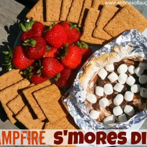 Campfire S'mores Dip