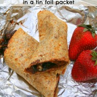 Tortilla Dessert Roll Ups In Foil Packets
