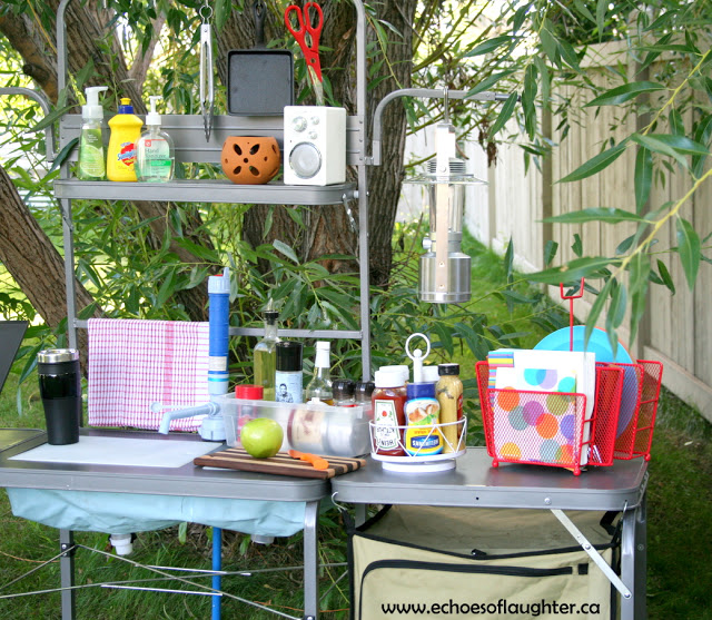 camp kitchen ideas organizing a camping kitchen echoes of laughter 10902