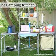 Organizing A Camping Kitchen