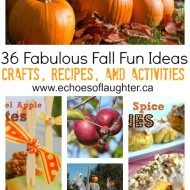 36 Fabulous Fall Fun Ideas