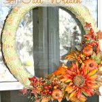 A Fall Wreath