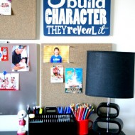 Teen Boy Study Space
