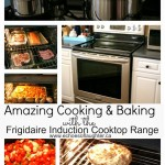 Amazingly Fast Cooking & Baking With The Frigidaire Gallery Induction Range #testdrivemoms