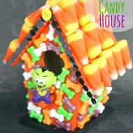 Cute Halloween Candy House
