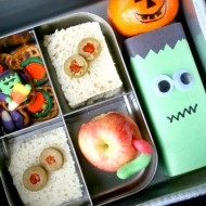 Easy Halloween School Lunch