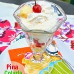 Pina Colada Breakfast Parfait