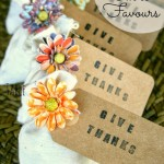Thanksgiving Table Favours