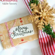 Pretty Christmas Table Favors or Gifts