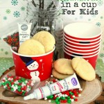 Christmas Cookie Decorating Kit In A Cup for Kids
