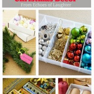 8 Easy & Affordable Ideas for Storing & Organizing Christmas Decor