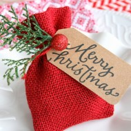 Gift Card Bag or Christmas Table Favor
