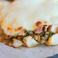 Oven Roasted Cheese & Apples Appetizer