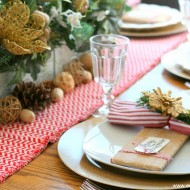 A Holiday Table with Roast Chicken