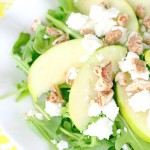 Arugula, Apple & Goat Cheese Salad