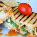 Chicken Panini with Curry Mayo, Cheese, Arugula & Chutney