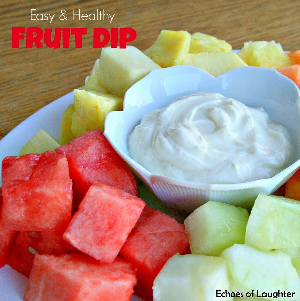 Easy & Healthy Fruit Dip
