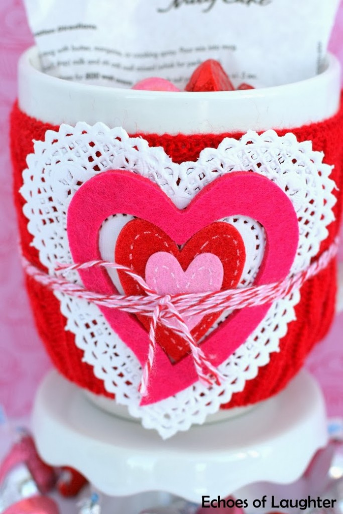 Valentine\'s Mug Cake Gift Idea - Echoes of Laughter