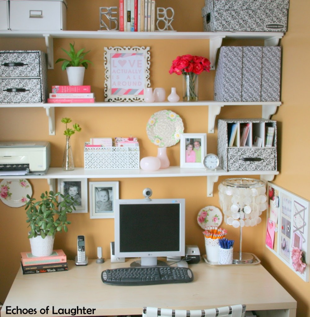 5 great tips for organizing your home office echoes of laughter. Black Bedroom Furniture Sets. Home Design Ideas