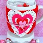 Valentine's Mug Cake Gift Idea