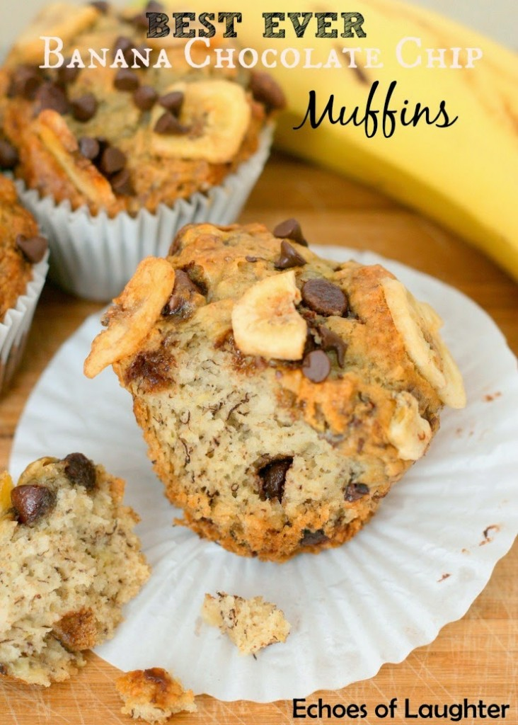 Banana chocolate chip muffins recipe canadian living