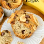 Best Ever Banana Chocolate Chip Muffins