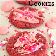 Easy Red Velvet Cookies For Valentine's Day
