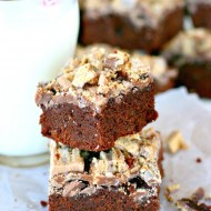 Coffee Crisp Brownies
