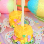 Easter Banana Pops