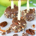 Pecan Chocolate Banana Bites