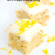 Carrot Cake Bars with Cream Cheese Icing