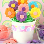 Make Flower Lollipops for Spring